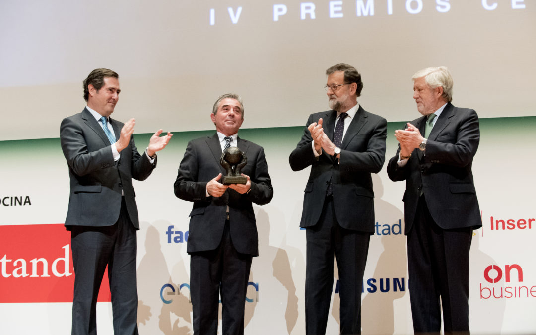 Troqueles Sánchez reconocida en los Premios Cepyme 2017
