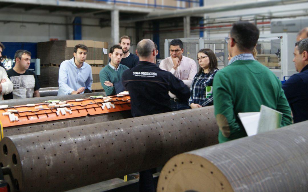 El departamento de mejora continua de Grupo Saica ha visitado nuestras instalaciones