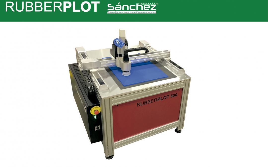 Rubberplot, la nueva máquina cortadora de goma de Troqueles Sánchez